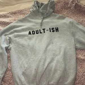 Other - QUORKY GREY HOODIE